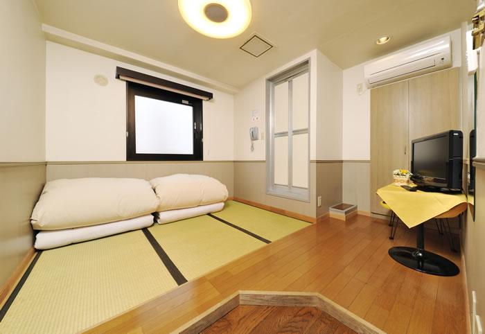 일본식 방( 2인 사용 )|ROOM(Room Type)|HOTEL CHANGTEE TOKYO 호텔 Changtee